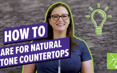 How To Care For Natural Stone Countertops