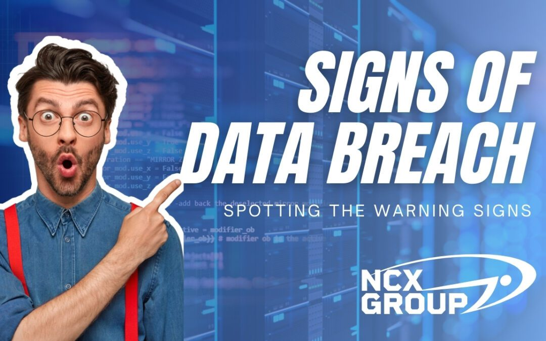 Spotting the warning signs of data breach