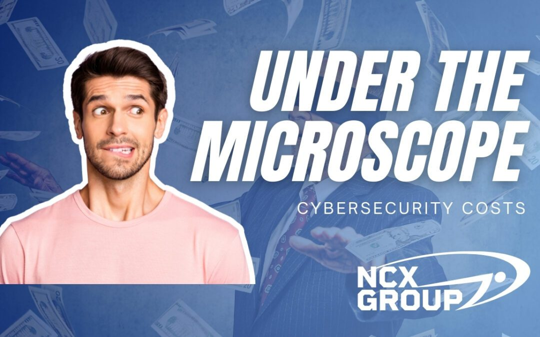 Cybersecurity costs under the microscope