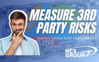 How to measure 3rd party risk in an organization's supply chain