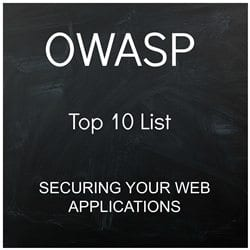 Web Application Security Top 10 OWASP list